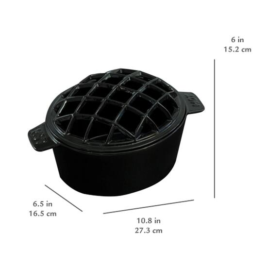 Pleasant Hearth Cast Iron Steamer/Humidifier - 2.4L