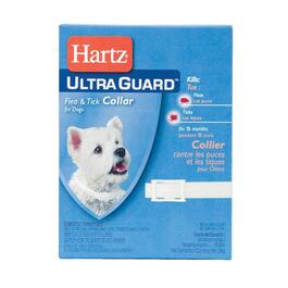 Hartz Ultra Guard Dog Flea & Tick Collar - White