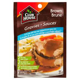 Club House 25 % Less Salt Brown Gravy Mix - 25g