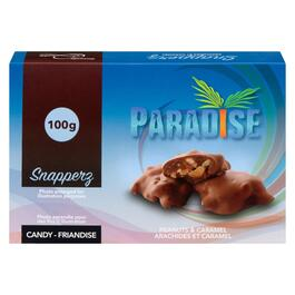 Paradise Snapperz Peanuts and Caramel Chocolates - 100g