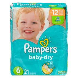 Pampers Baby-Dry Size 6 Diapers - 21pk.