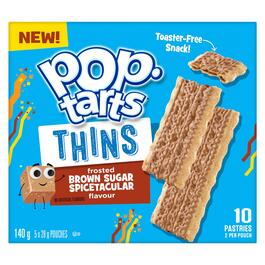 Pop-Tarts Frosted Brown Sugar Spicetacular Thins 5pk. - 140g