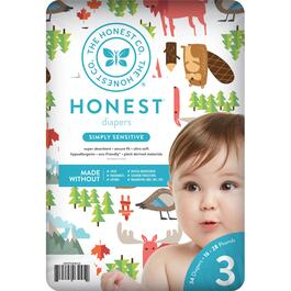 The Honest Company Into the Wild Patterned Diapers Size 3 - 136pk.