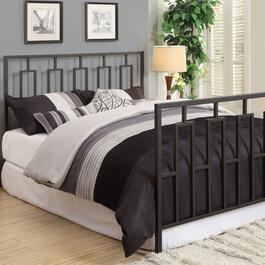 Monarch Specialties Inc. Geometric Headboard - Full/Queen