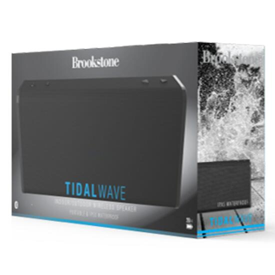 Brookstone Tidalwave Indoor/Outdoor Wireless Speaker