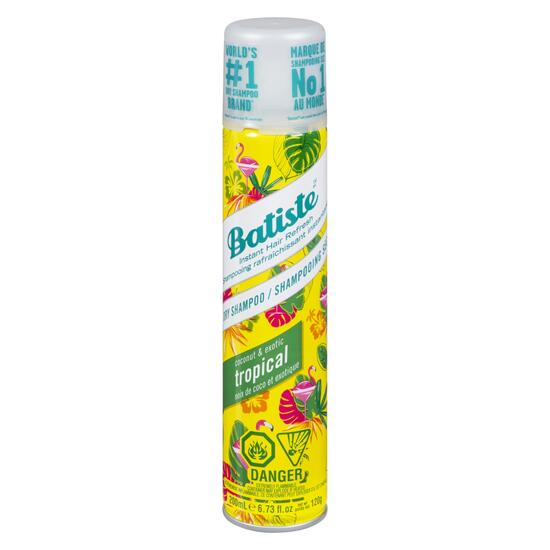 Batiste Tropical Dry Shampoo - 200ml