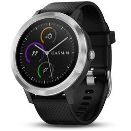Garmin vívoactive 3 Watch GPS - Steel with Black Silicone