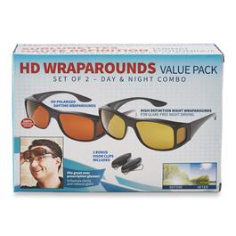 As Seen On TV Combo Pack Polarized Wraparound Sunglasses