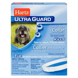 Hartz Ultra Guard Dog Flea & Tick Collar  - Large