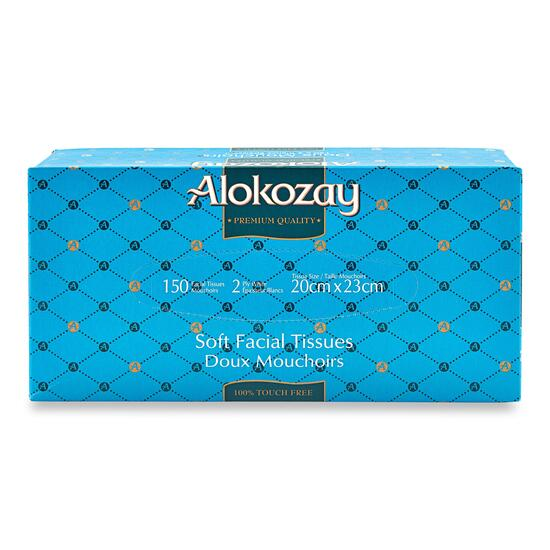 Alokozay Soft Facial Tissue - 150 pk.