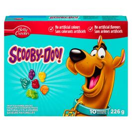 Betty Crocker Scooby-Doo Fruit Flavoured Snacks 10pk. - 226g