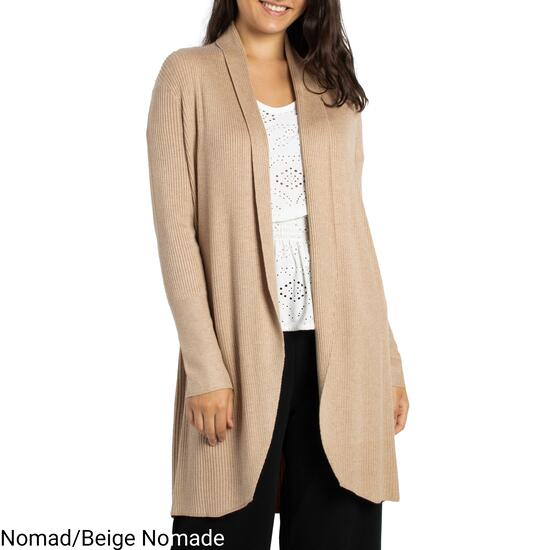 lily morgan Women's Cocoon Shawl Cardigan - S-XL