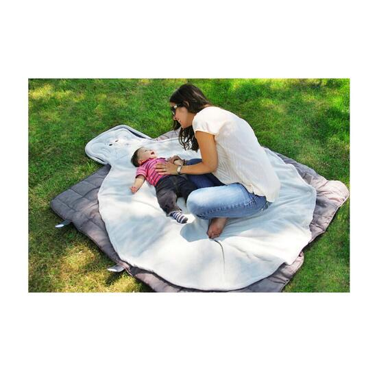 Bundle Blanket Travel and Play Mat - Elephant