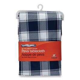 Procter Silex PEVA Printed Checkered Tablecloth - 70in.