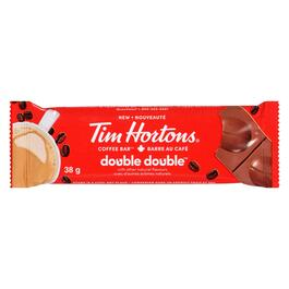 Tim Hortons Double Double Coffee Bar - 38g