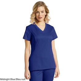 White Cross Women's Side Stretch V-Neck Scrub Top - XXS-XL