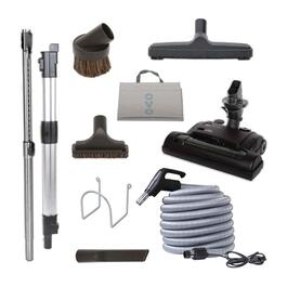 OVO Carpet Deluxe Central Vacuum Cleaning Tool Set with Electric Carpet Beater