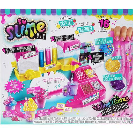 So Slime Slime'licious Scented Slime Station - 19pc.