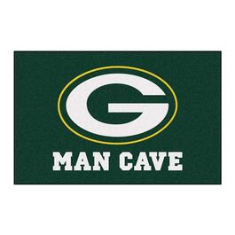 NFL Green Bay Packers Man Cave Starter Rug