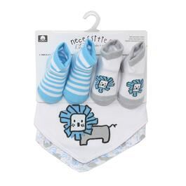 Tendertyme Bib and Sock Set - 4pc.