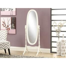 Monarch Specialties Inc. Framed Oval Floor Mirror - 59in.