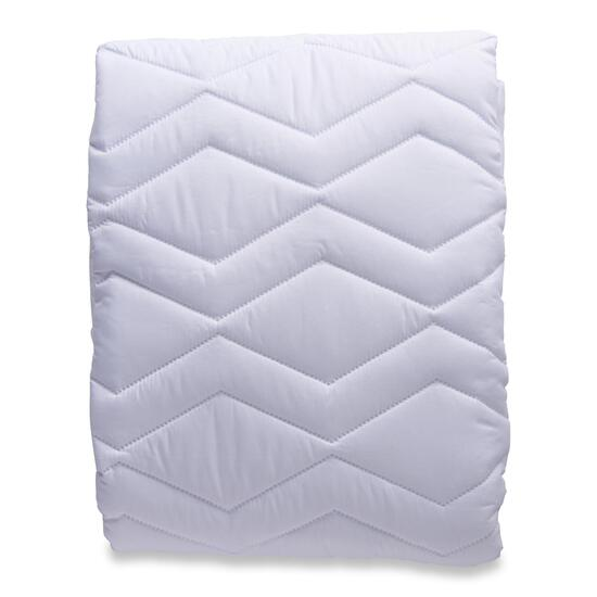 Simmons Deep Sleep White Mattress Pad - Double