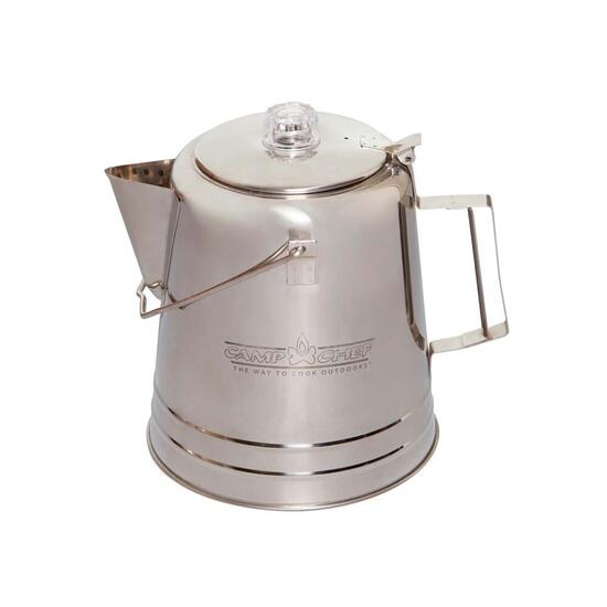 Camp Chef 28 Cup Stainless Steel Coffee Pot