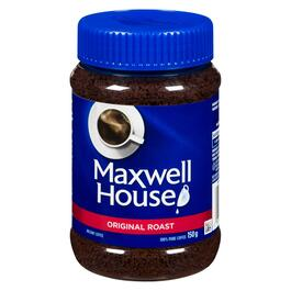Maxwell House Original Roast Instant Coffee - 150g
