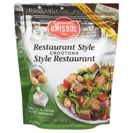 Boulangerie Grissol Restaurant Style Garlic and Herb Croutons -150g