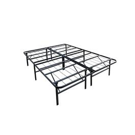 Double Metal Platform Bed
