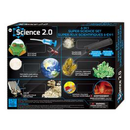 Science 2.0 6-in-1 Super Science Set