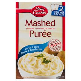 Betty Crocker Butter and Herb Mashed Potatoes - 215g