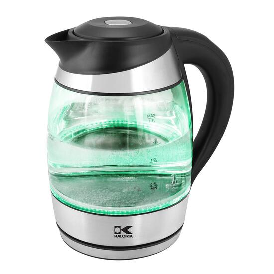 Kalorik Glass Water Kettle with LED Lights - Multicolour