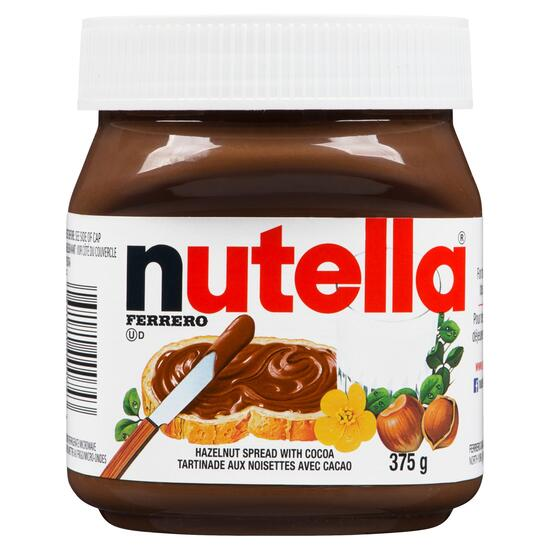 Nutella Chocolate Hazelnut Spread - 375g