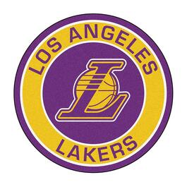 NBA Los Angeles Lakers Roundel Mat - 27in.