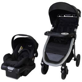 Safety 1st Stride Travel System Carbon Black