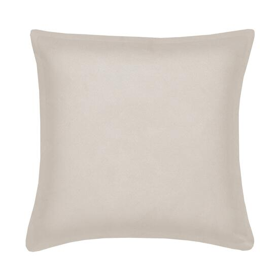 Milano Suede Ivory Cushion - 20in.