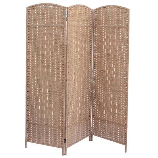 3 Panel Woven Bamboo Screen - Cameron