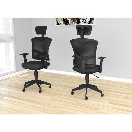 Safdie & Co. Multi Position Office Chair - Black