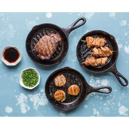 Lodge Cast Iron Grill Pan - 6.5in.