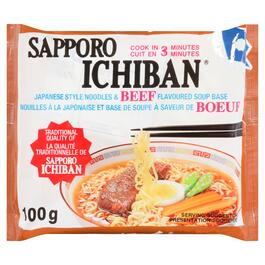 Sapporo Ichiban Beef Japanese Style Noodles - 100g