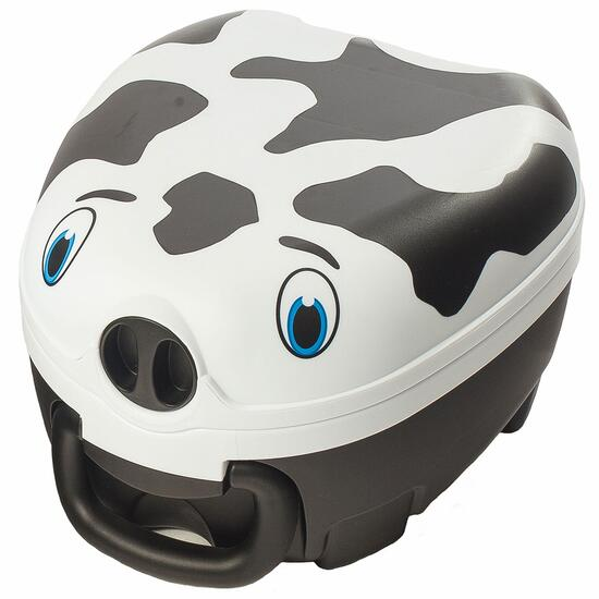 My Carry Potty Black and White Cow