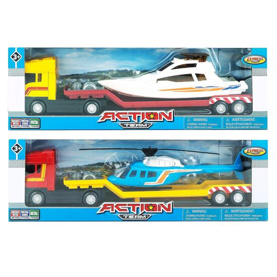 Action Team Hauler Truck Set