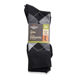 Mountain Ridge Men's Casual Socks 5pk. - 10-13