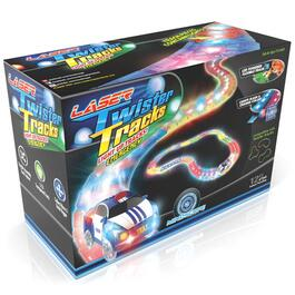Mindscope Laser LED Twister Tracks with Race Car