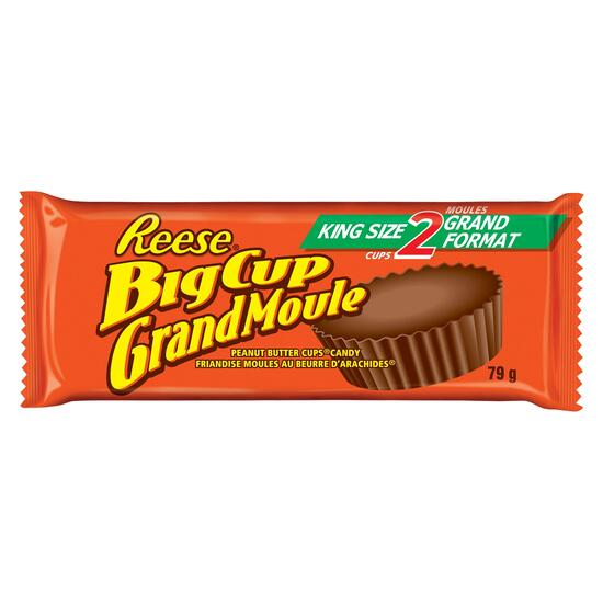 Reese King Size Peanut Butter Cups 2pc. - 79g