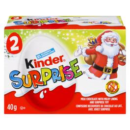 Kinder Surprise Christmas Eggs 2pk. - 40g