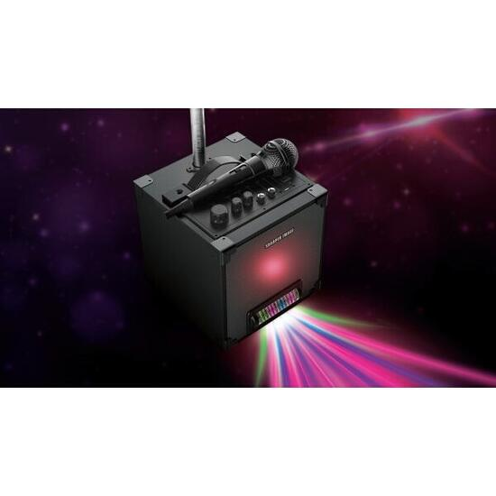 Sharper Image Black Portable All-In-One Karaoke System