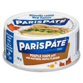 Paris Pâté Maple Ham Paté with Natural Maple Flavour - 78g