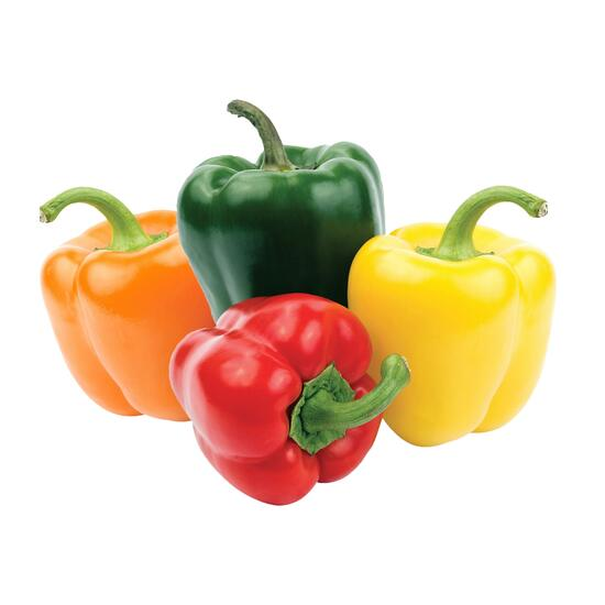Rainbow Peppers - 4pk.